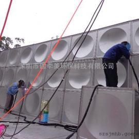 深圳优质白口铁水箱零售商,深圳四季美水箱制造安装公司