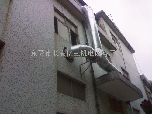 通风管 白铁风管 东莞厂家直销深圳通风设备