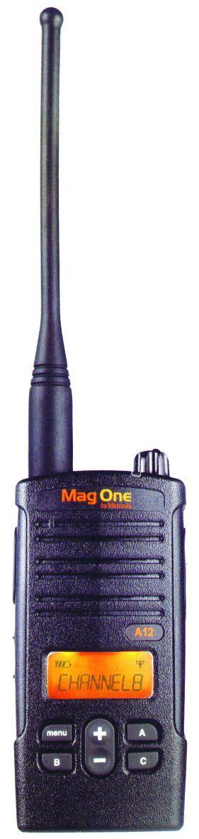 摩托罗拉Mag One A12对讲机