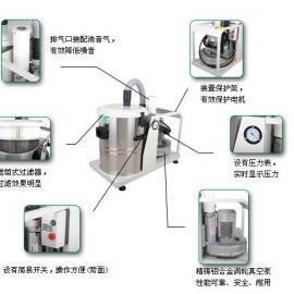 食品机械专用工业吸尘器-吸铁屑专用工业吸尘器