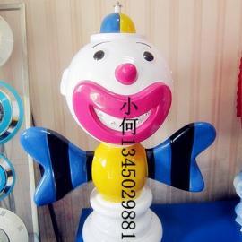 小丑戏水小品雕塑喷水卡通玩具水上乐园儿童戏水池喷水卡通