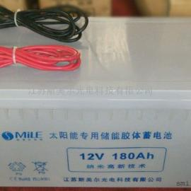 新农村太阳能路灯专用12V/24V胶体免维护蓄电池