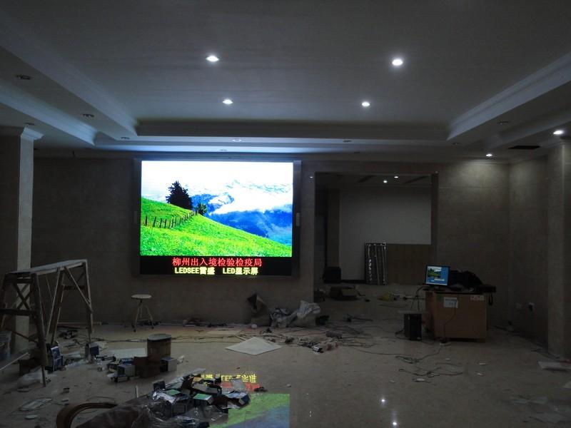 色彩最纯室内p5led电子彩屏寿命可达8万小时
