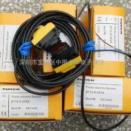 BT18-E6X.BT18-R-VP6X图尔克光电传感器