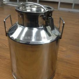 不锈钢50L密封牛奶桶