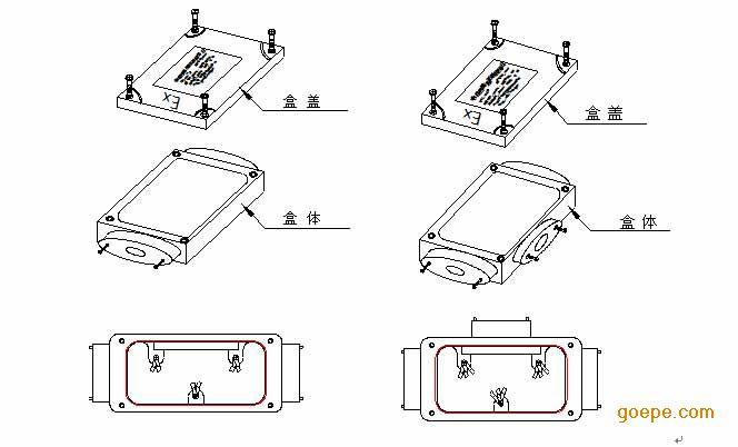 首页 供应产品 工控设备 电气连接 接线盒 >> pmkg-lsc防爆两通接线盒