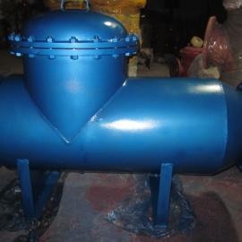 山西太原DN400冷却循环水直通卧式除污器 北京厂家直供