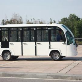14座封闭观光车|景区电动观光车|电动学校园车