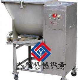 大型搅拌绞肉一体机、绞肉机厂家、搅拌机供应商JY-532