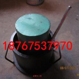 石子压碎仪 石子混凝土骨料压碎指标测定仪 带捣棒 标定罐