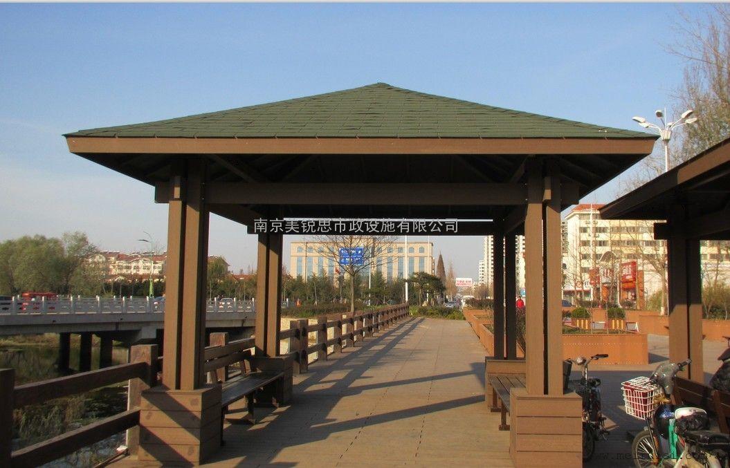 南京亭子厂家|南京塑木亭|南京景观亭