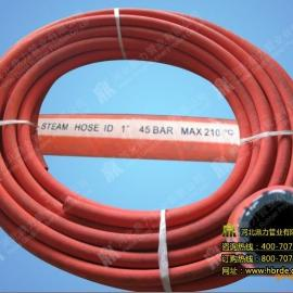 鼎力专业直销红色、黑色夹布蒸汽胶管