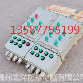 多回路防爆配电箱BXD51_非标防爆配电箱厂家定制