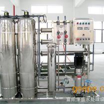 反渗透水处理设备电镀行业用水1吨每小时工业纯水机