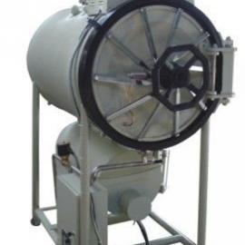 共创实业低水位自动断电保护卧式圆形压力蒸汽灭菌器