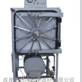 共创实业全自动程控液晶显示灭菌过程卧式矩形压力蒸汽灭菌器