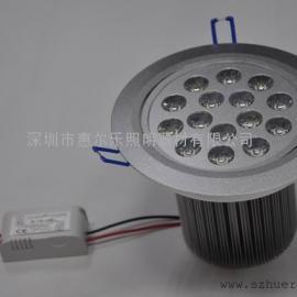 惠���放�15*1W大功率LED天花�簦��h保�能,安�b方便
