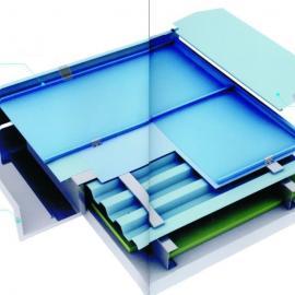铝镁锰金属屋面--典型立边咬合系统
