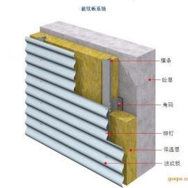 780型横铺金属墙面板