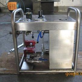 便携式气动试压泵