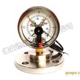 耐震隔膜电接点压力表