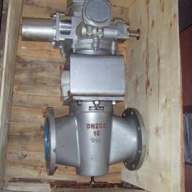 X943W-10C-DN150铸钢电动二通旋塞阀