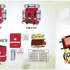 个人携行装备拉杆箱/卫生应急背囊/应急救援个人拉杆箱装备