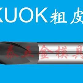 2F美国KUOK钨钢涂层K52平底铣刀