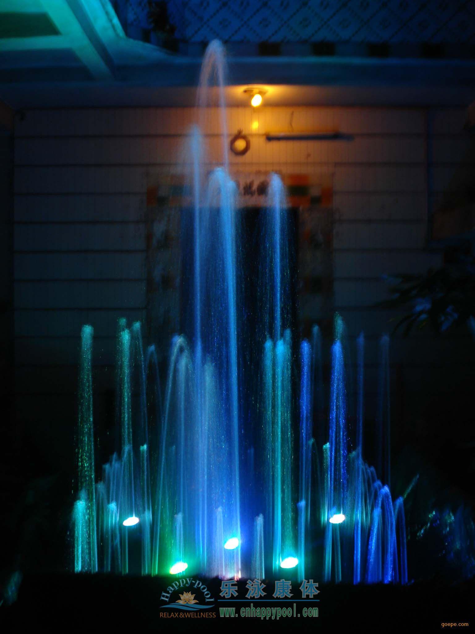 小型喷泉正方形喷泉/喷泉喷头/喷泉场景/正方形喷