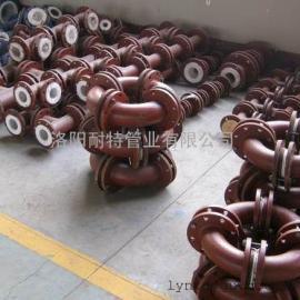 钢管内衬聚四氟乙烯―化工厂纸张用添加剂生产用管道