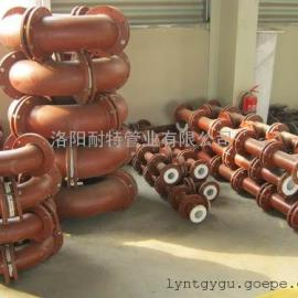钢管内衬聚四氟乙烯―化工厂混凝土添加剂介质输送管道