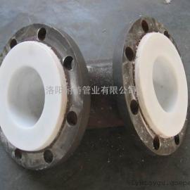 衬四氟钢管—化工厂碳酸钾输送管道
