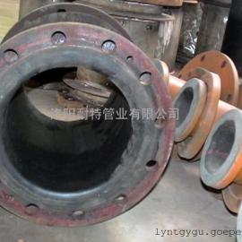 防腐衬胶管 脱硫管道