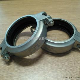 供应:优质不锈钢铸造卡箍|不锈钢沟槽卡箍|挠性卡箍