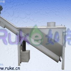 大量供应【无轴螺旋式砂水分离器】―螺旋砂水分离器