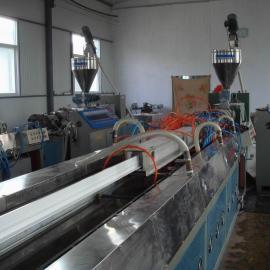 PVC型材生产线|pvc护角线条生产线