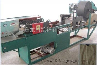 多功能苹果袋机,袋口扎丝苹果袋生产设备,制造苹果套袋的机器,