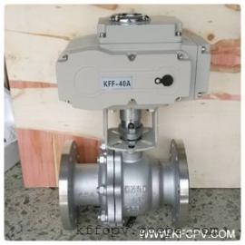 DC24V调节型电动二片式球阀
