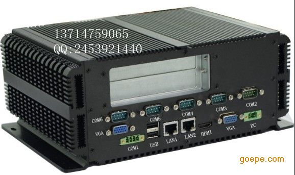 工控机GM45主机无风扇防尘RS485铝PCI嵌入