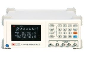 常州扬子YD2512型直流低电阻测量仪