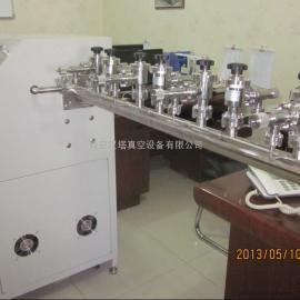 氙气灯管抽真空分子泵机组 氙气灯管用分子泵机组