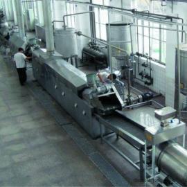 专业制造油炸薯片、锅巴加工流水线质量优炸制颜色好