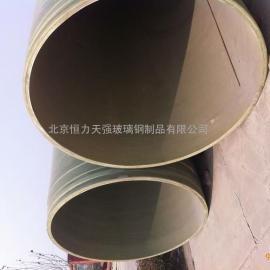 FRP塑料管道,玻璃钢缠绕管,夹砂管,工艺管