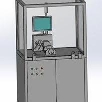 汽车电子油门踏板性能测试台