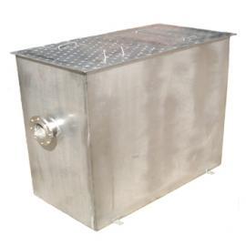 热卖无动力不锈钢隔油池