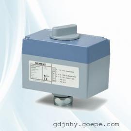 西门子5.5mm电动执行器SQS35配VVG44或VXG