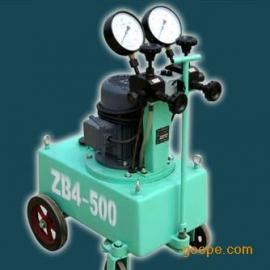 万贯ZB4-500系列高压油泵\张拉机