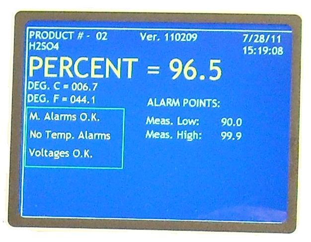 在线硫酸浓度仪