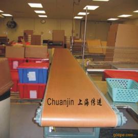 上海传进输送机设备、食品级带输送线、PU输送带