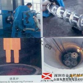塑料吹膜机螺杆�n塑料机械专用螺杆 -金鑫厂家直销品质保证!